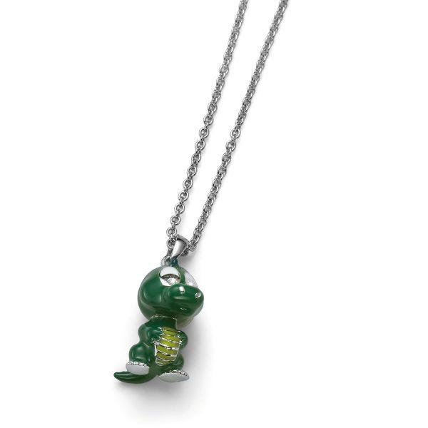 آویز تمساح سبز