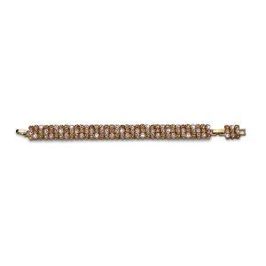 دستبند طلایی مدل گنجینه