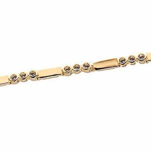 دستبند طلایی مدل عاشقانه
