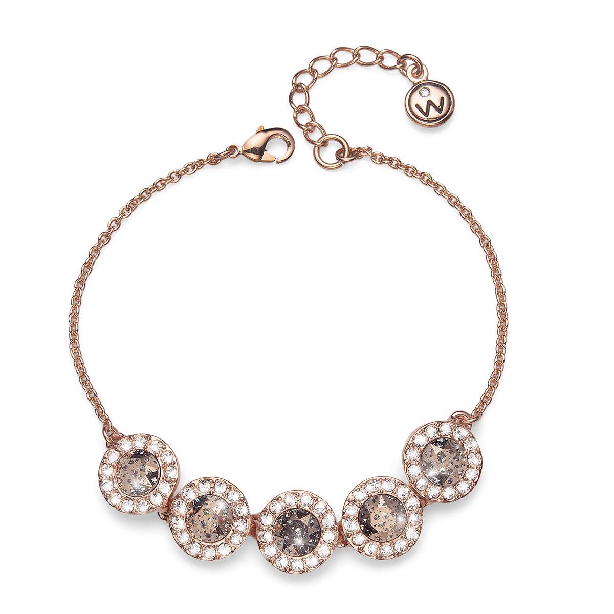 دستبند رزگلد مدل پاتینا