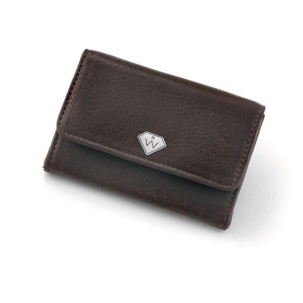 کیف پول و کلید مدل همراه (مشکی)