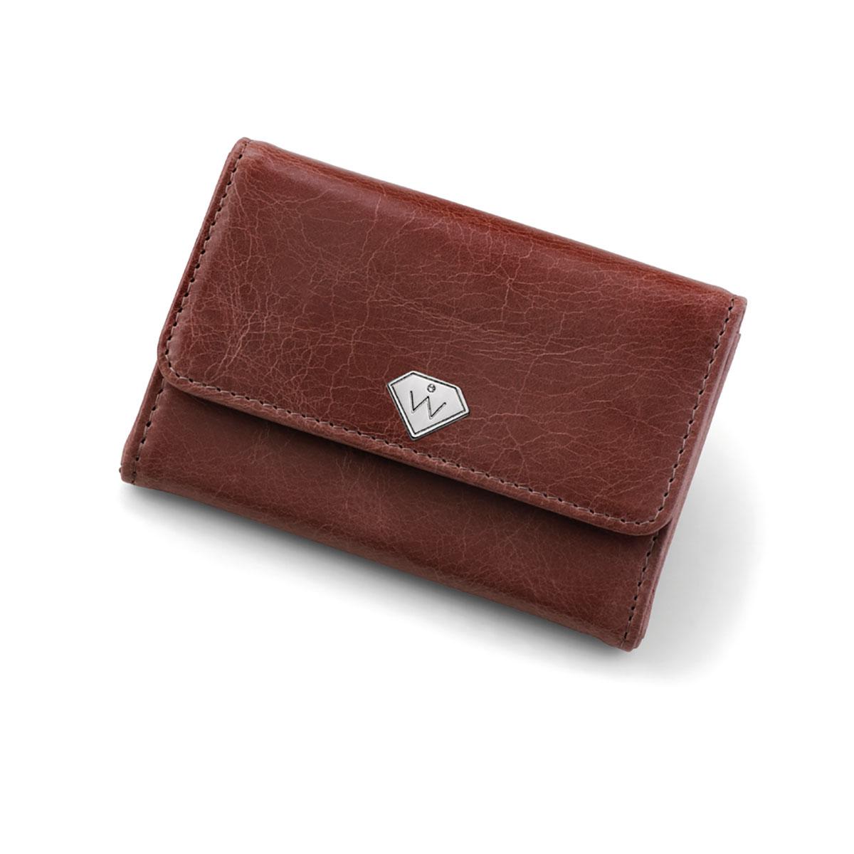 کیف پول و کلید مدل همراه (رز)