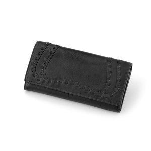 کیف پول چرم مدل پرایم (مشکی)