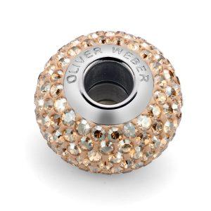 مهره دستبند استیل مدل شاین سایه طلایی