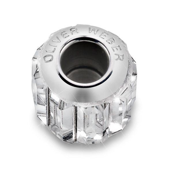 مهره دستبند استیل مدل قاب کریستال