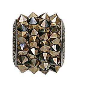 مهره دستبند استیل مدل اسپایک متالیک