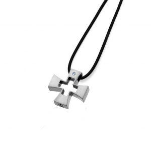 آویز کریستال مدل صلیب