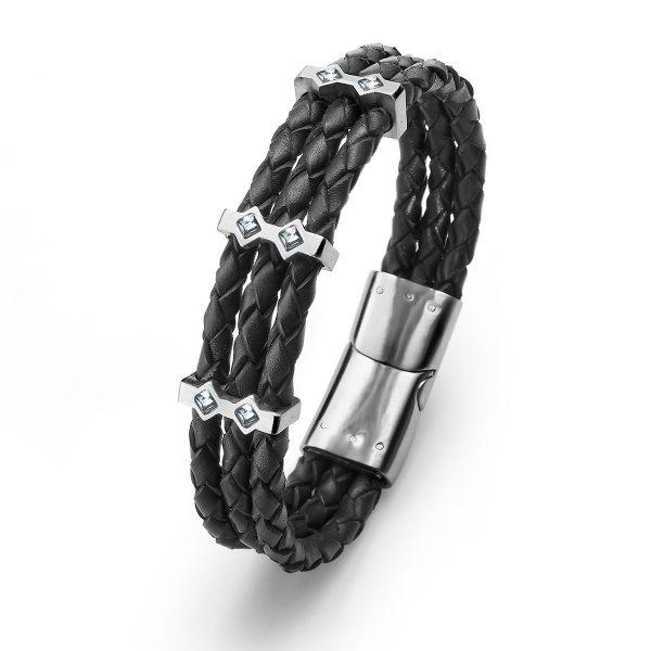 دستبند مردانه مناسب هدیه روز پدر