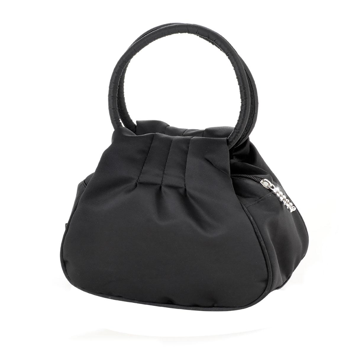 کیف دستی چرم مدل اندام (مشکی)