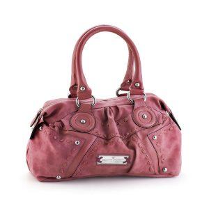 کیف دستی چرم مدل پرایم (صورتی)
