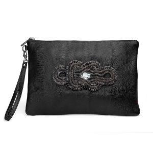 کیف دستی چرم مدل زنجیر