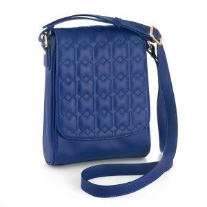 کیف دستی چرم مدل مودس واکر (آبی)