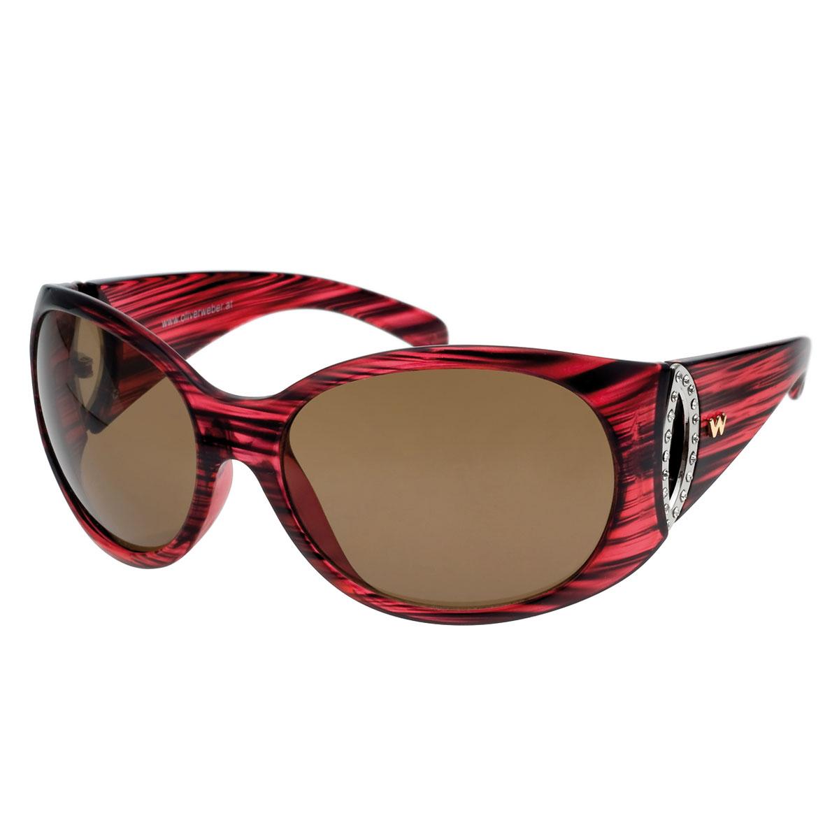 عینک آفتابی مدل ویرجینیا قرمز
