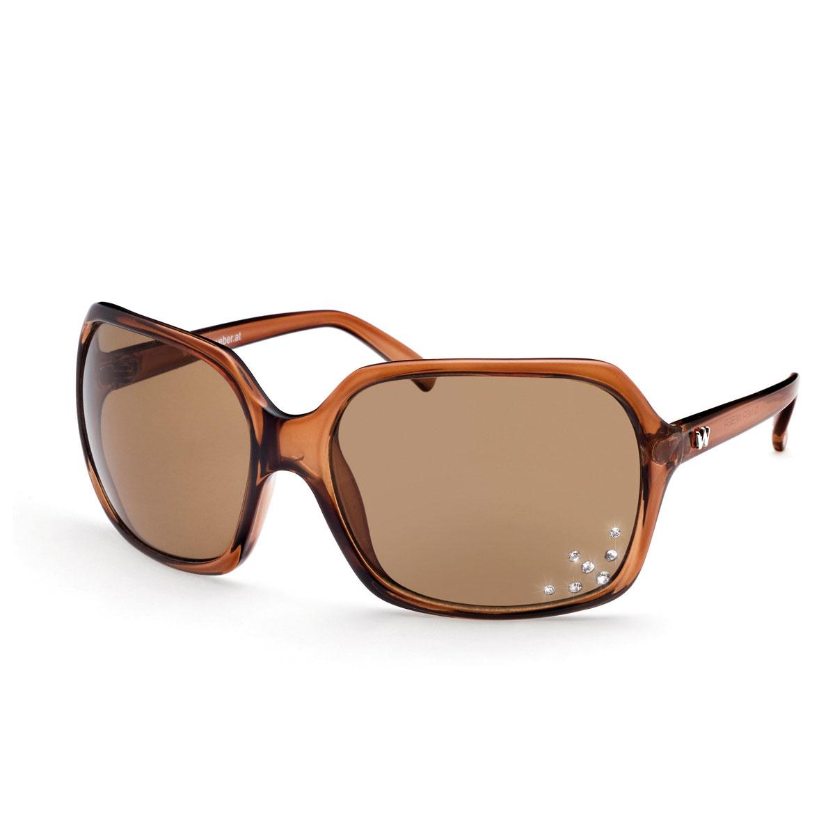 عینک آفتابی مدل اورگان قهوه ای