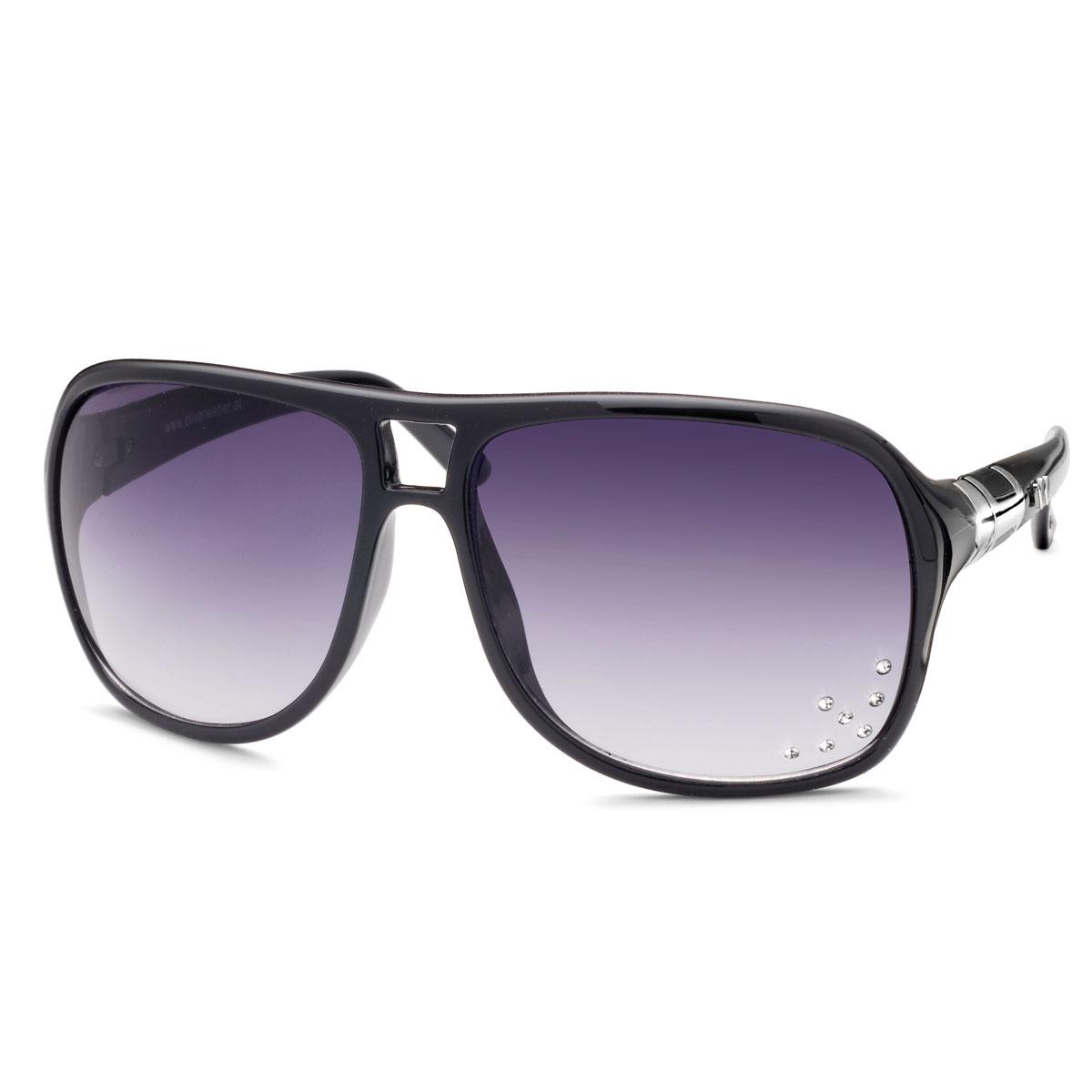 عینک آفتابی مدل آلاباما مشکی