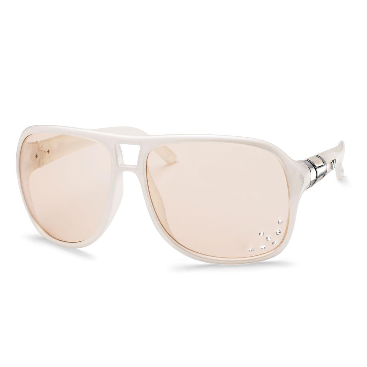 عینک آفتابی مدل آلاباما سفید
