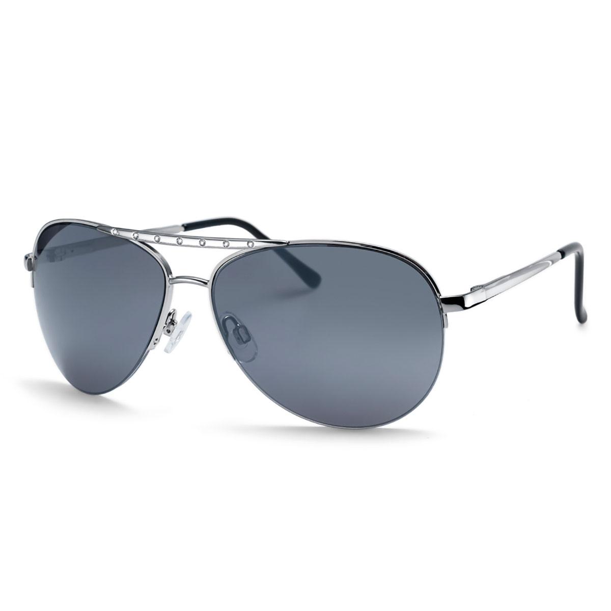 عینک نقره ای مدل فلایت