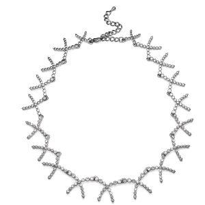 گردن بند کریستال مدل کروز