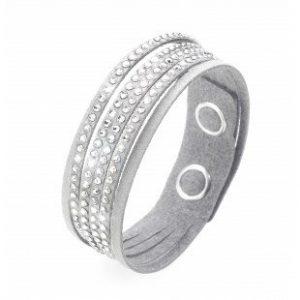 دستبند کریستال تک حلقه ای-اثر اینشتلونگ مدل آلکانترا- روشنفکر